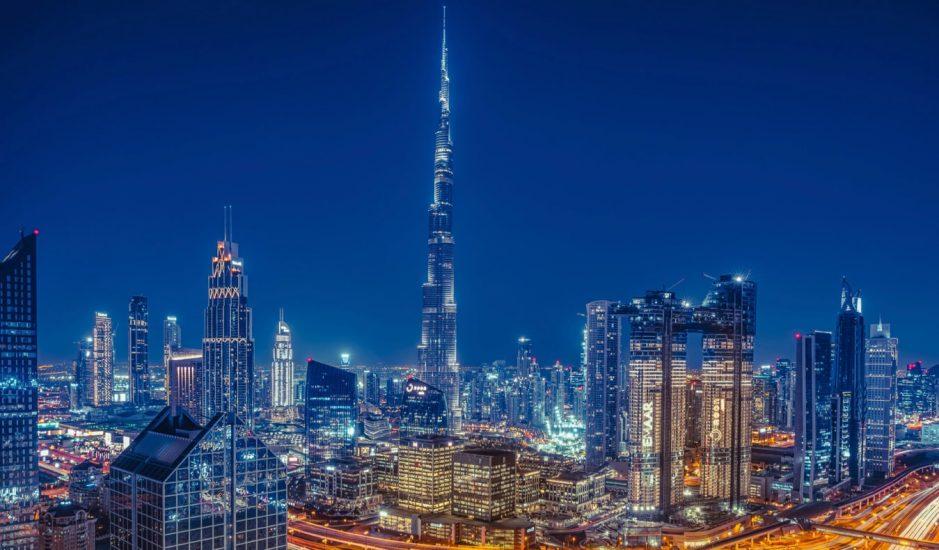 Birleşik Arap Emirlikleri'nin Dubai kentinden bir görünüm.