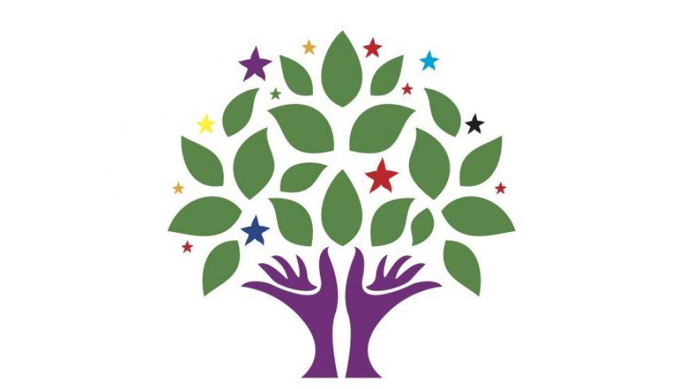 HDP'nin kurumsal logosu.